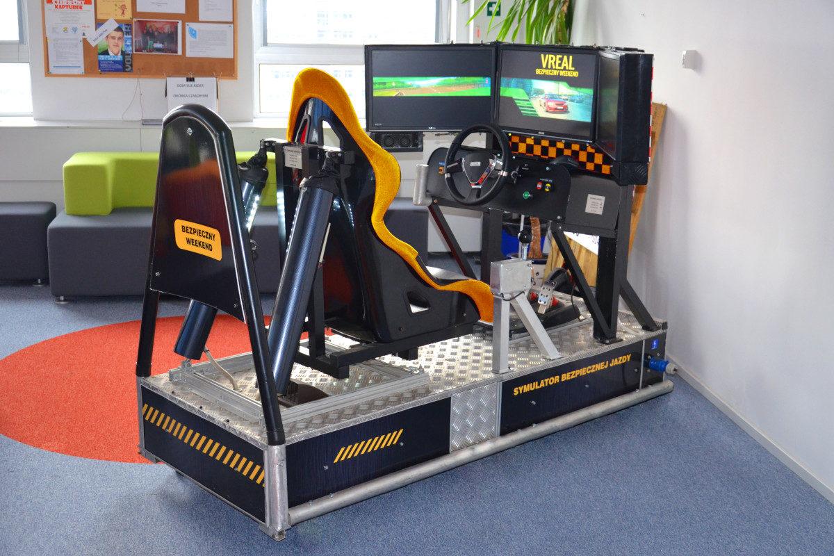 Symulator jazdy miejskiej - 3 - symulator jazdy po mieście warszawa