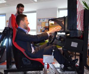 Symulator jazdy miejskiej - 7 - szkolenie bhp dla kierowców