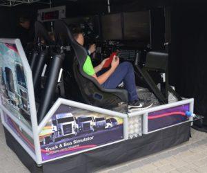 Symulator jazdy samochodem ciezarowym TIR VR - 15