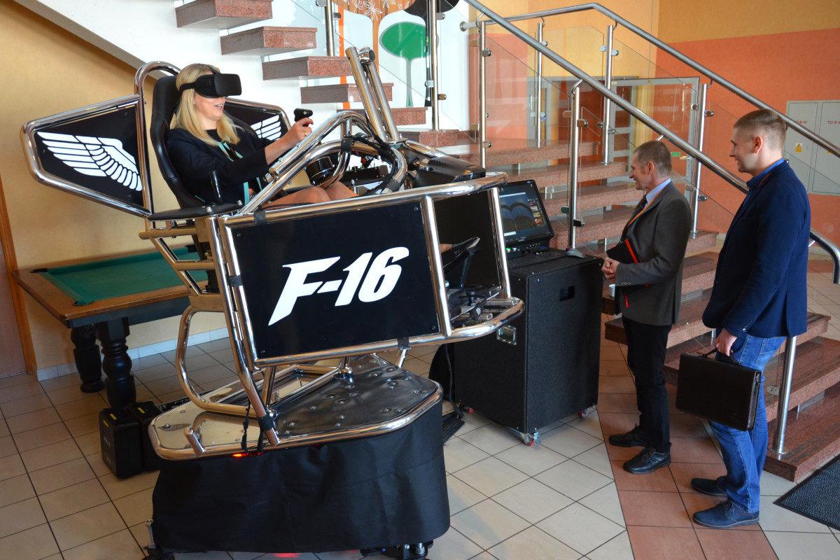 Symulator lotu VR 9D - 6 - atrakcje lotnicze na wynajem
