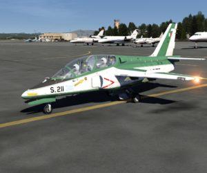 Symulator lotu VR 9D F16 Gdańsk - gra
