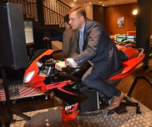 Symulator motocykla imprezy firmowe