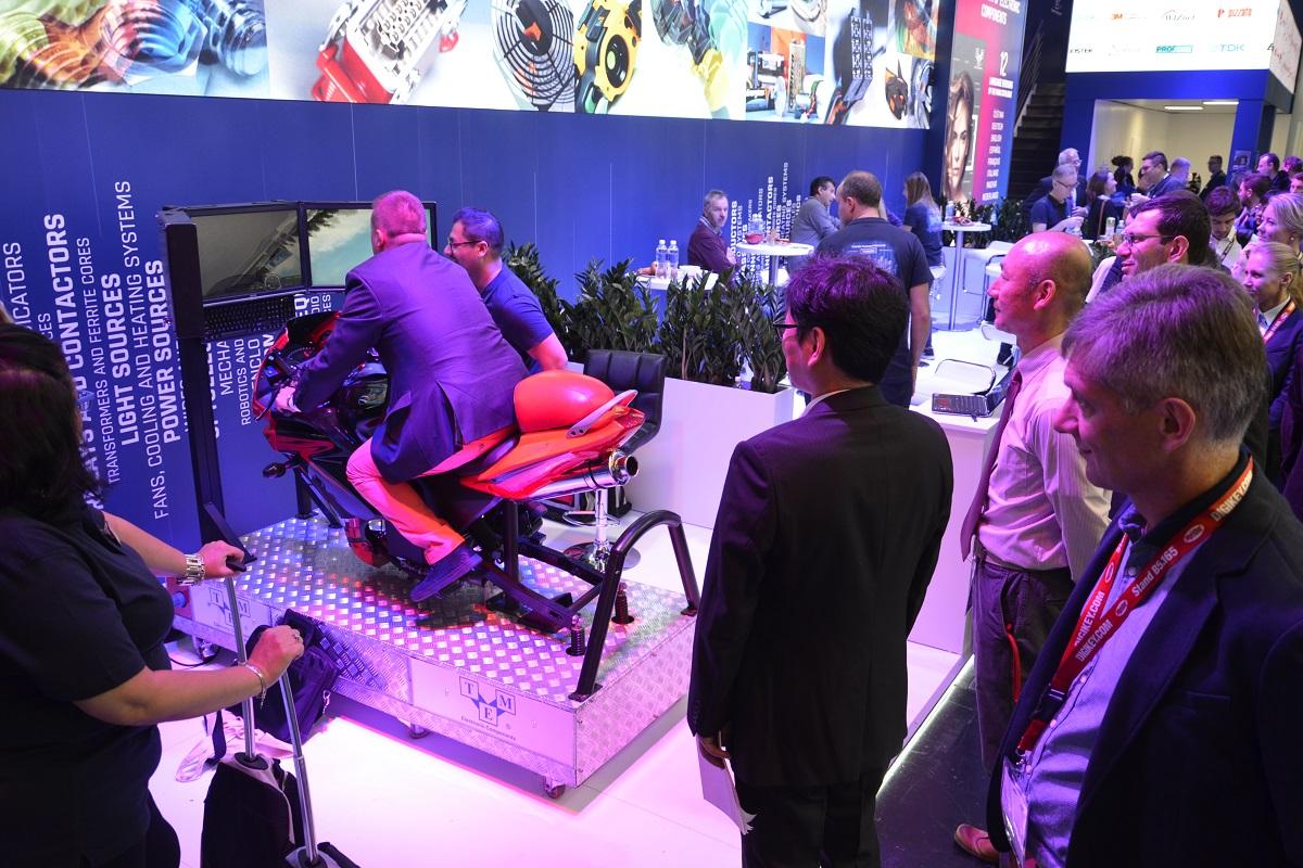 Symulator motocykla wynajem na targi