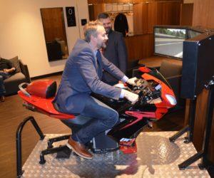 Symulator motocykla wynajem zloty motocyklowe
