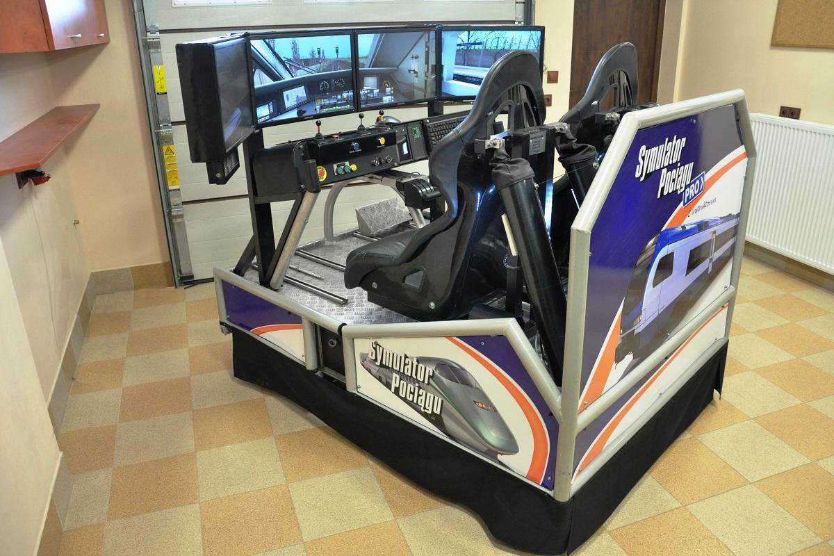 Symulator pociągu Pro VR Poznań wynajem 4
