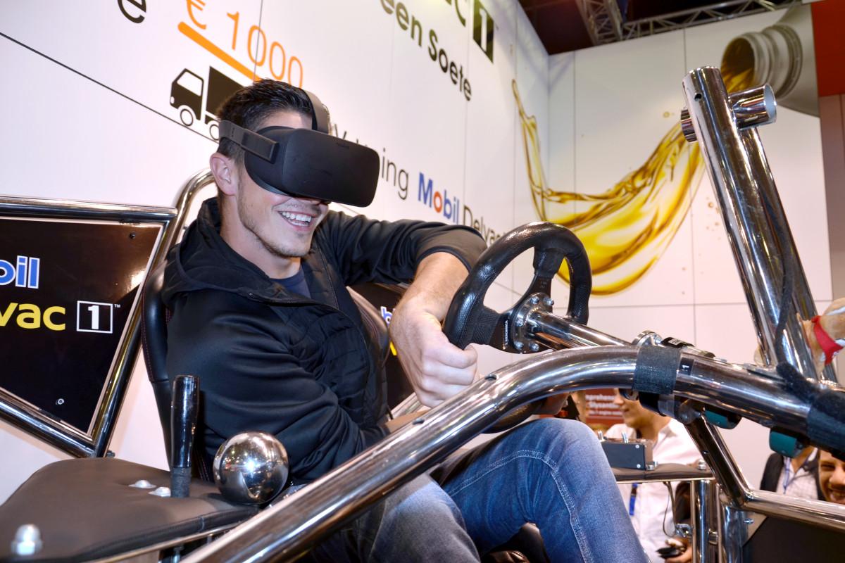 Symulator rajdowy VR 9D