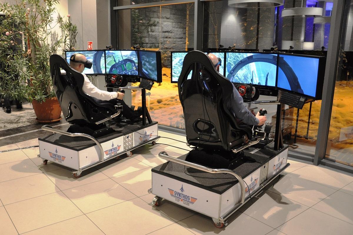 Symulator lotniczy VR