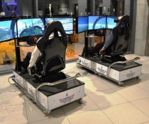 Symulatory lotu VR 5D wynajem