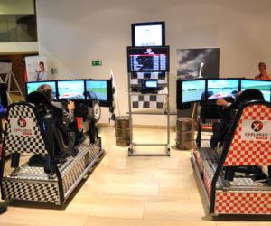 Tablica LCD - 3 - symulatory vr turniej z nagrodami