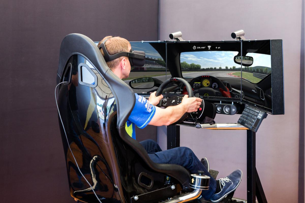 symulator jazdy VR 5D - 1 - symulator wrc wynajem