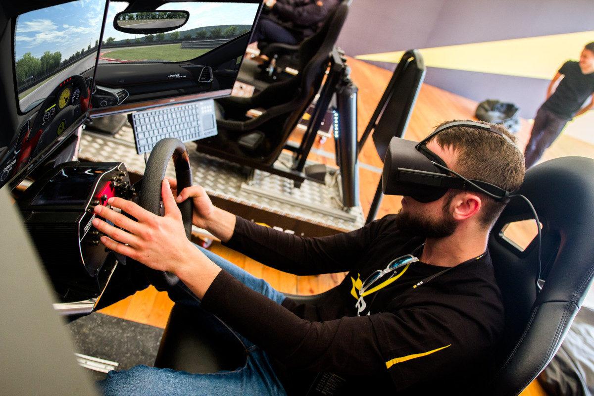symulator jazdy VR 5D - 8 - symulator rajdowy wynajem