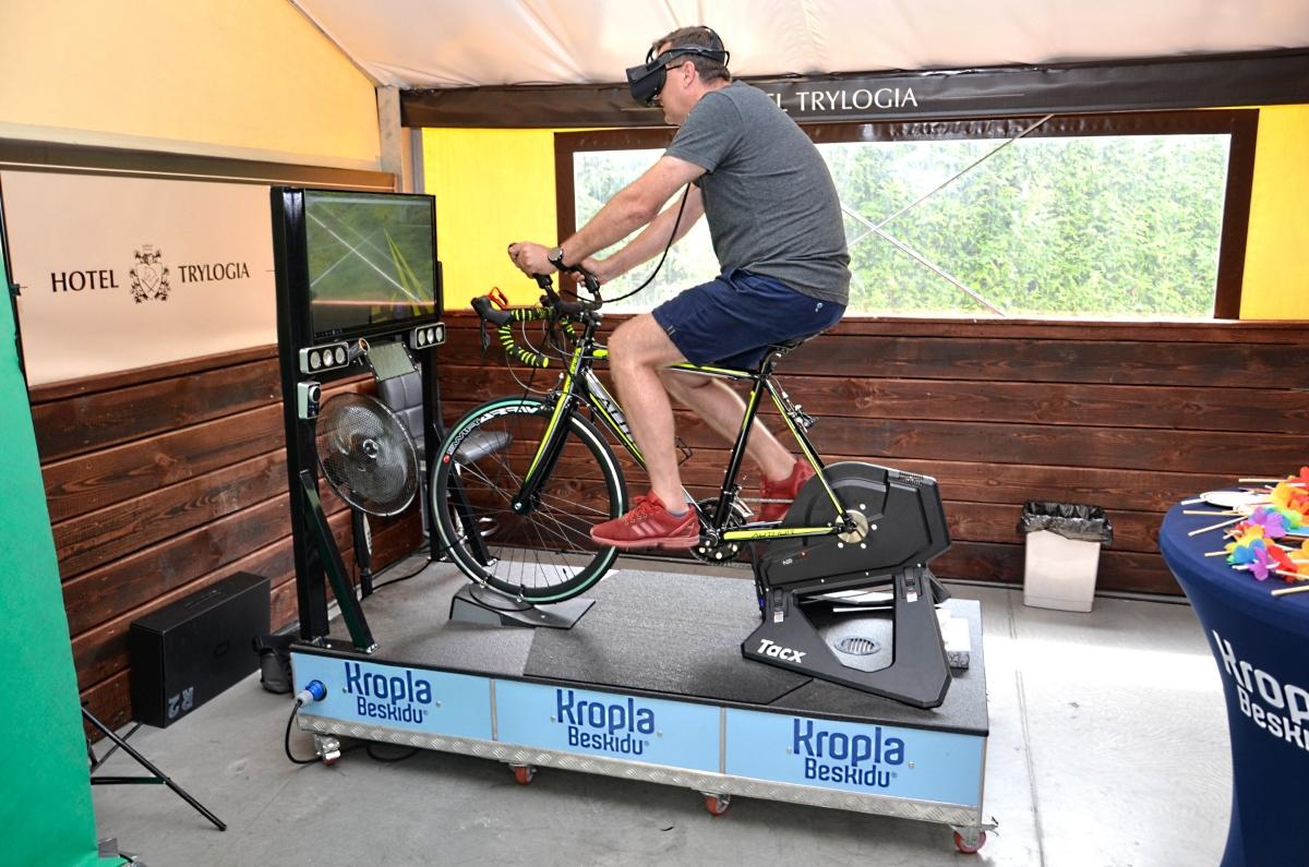 symulator tras rowerowych vr wynajem